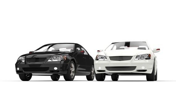 Black And White Exclusive Cars