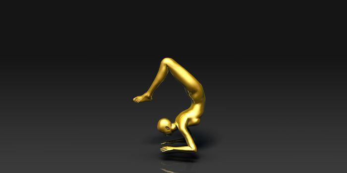 Yoga Pose, the Scorpion Basic Poses Guide