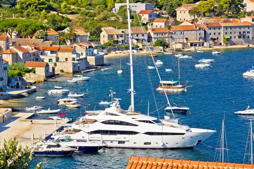Island of Vis yachting waterfront
