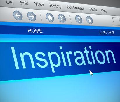Inspiration concept.