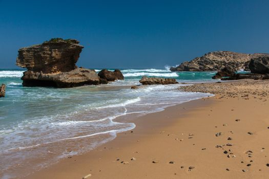 Coastline Rock Formations in South Africa