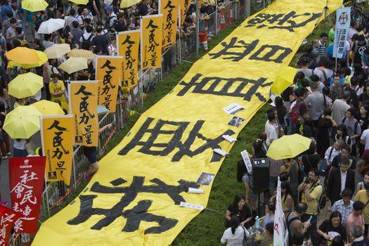 HONG KONG - DEMOCRACY - UMBRELLA REVOLUTION
