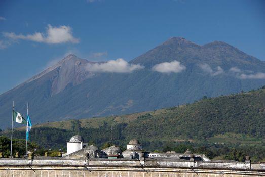 Landscape in Guatemala