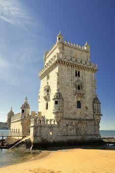 Tower of Belem in Lisboa.
