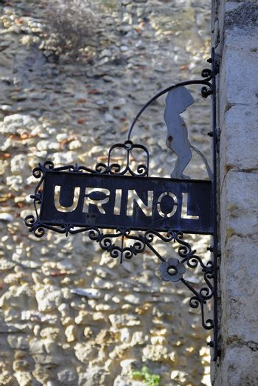 Urinol sign