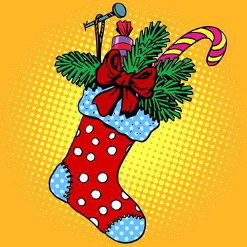 Christmas sock for gifts