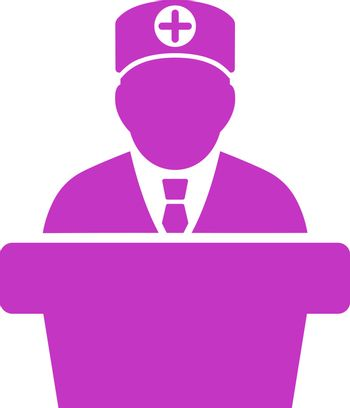 Medical Official Lecture Icon