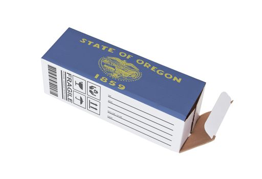 Concept of export - Product of Oregon