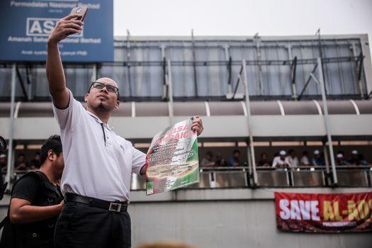 MALAYSIA - PROTEST - US EMBASSY IN KUALA LUMPUR
