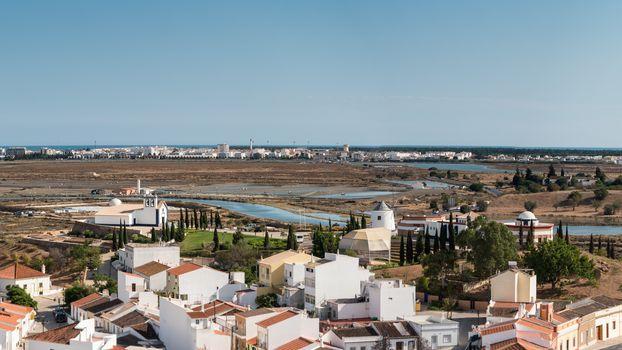 Panoramic view of Ayamonte