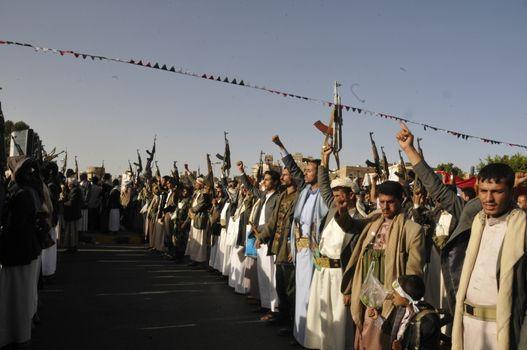 YEMEN - SANAA - SAUDI ARABIA - DEMO