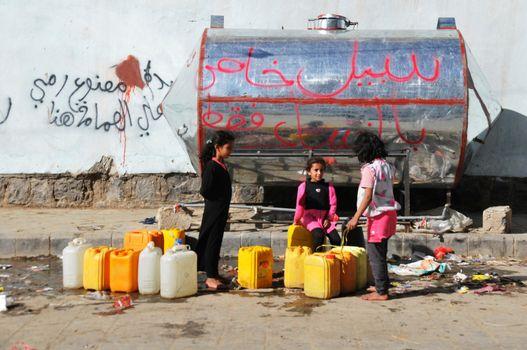 YEMEN - SANAA - WATER CRISIS - POVERTY