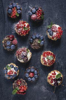 Creative mini tarts