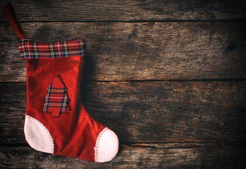 Empty Christmas sock
