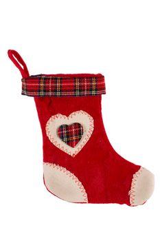 Christmas sock isolated