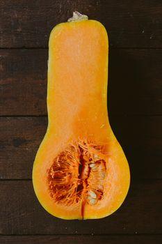 Slice pumpkin