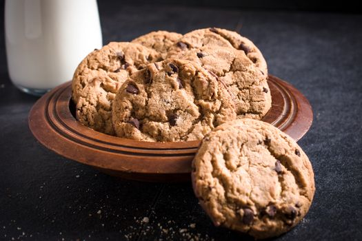 Cookies in the plate
