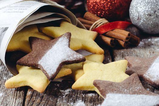 Star shape gingerbreads