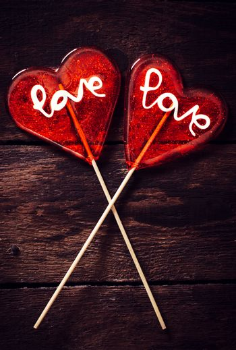 Heart couple
