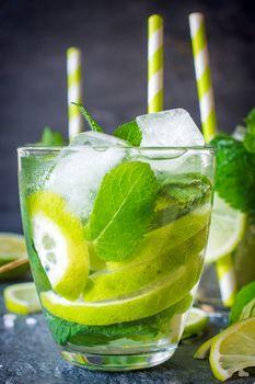 Lime refreshment