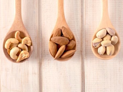 Nuts in the ladle