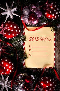 Holidays goals