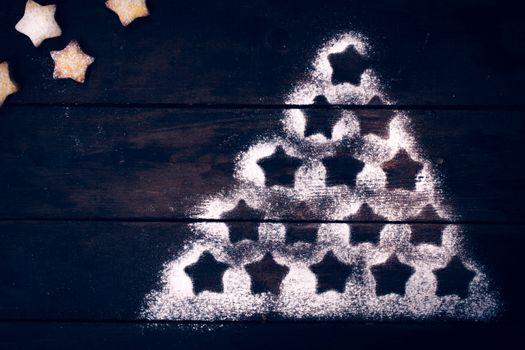 Christmas tree shape