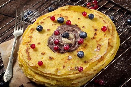 Sweet pancakes time