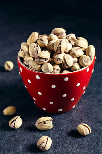 Pistachios in the cup