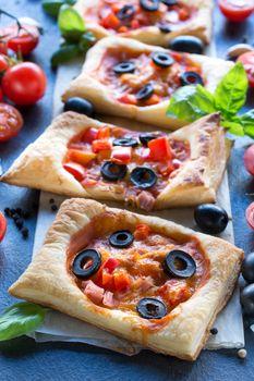 Italian mini pizza