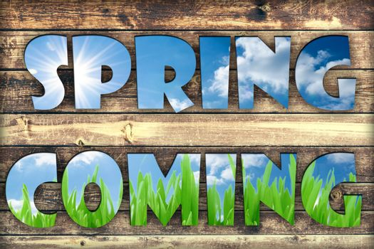 Spring coming