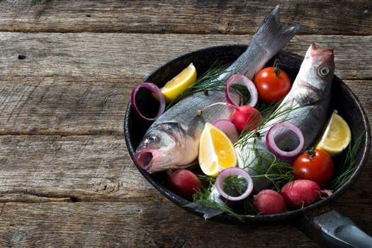 Fish in the pan