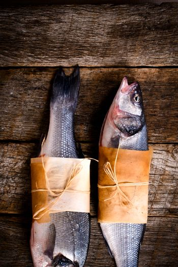 Two bass fish