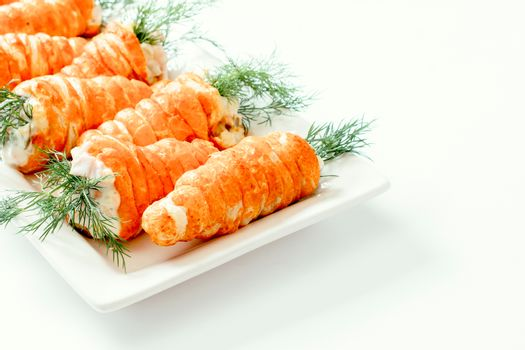Carrots pastry