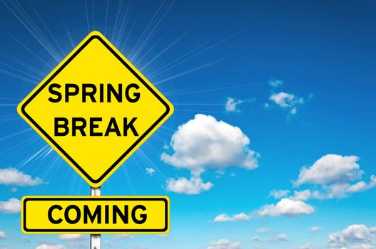 Spring break coming