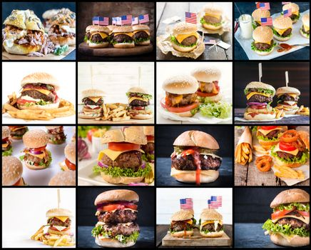 Burgerss collage