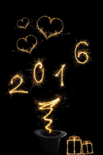 Magical new year 2016.