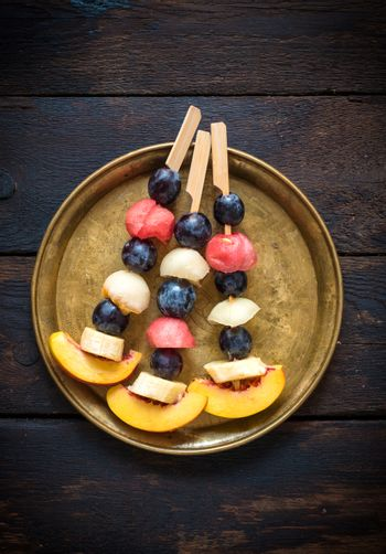 Fruits on the stick
