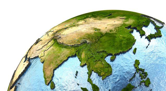 southeast Asia on Earth