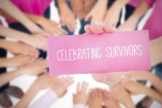 Celebrating survivors against oktoberfest graphics