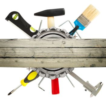 Hand tools with hammer