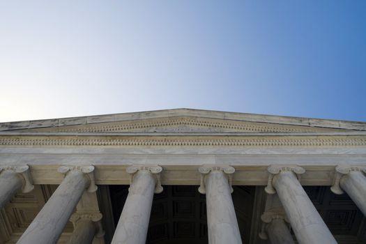 Thomas Jefferson Memorial Entrance