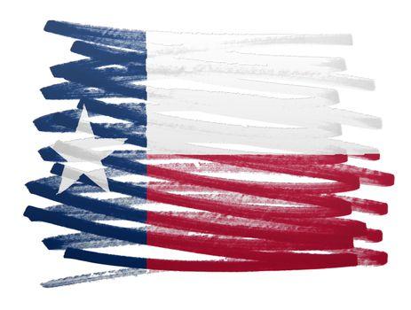 Flag illustration - Texas