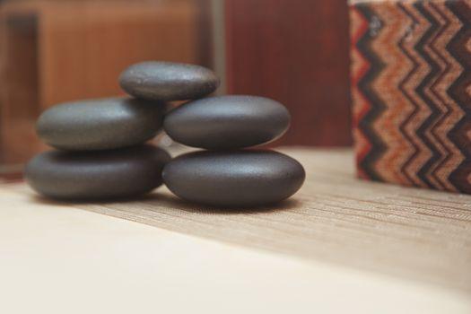 Stones for spa procedure