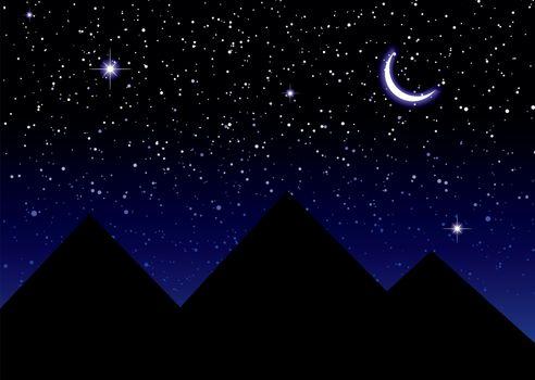 space night sky