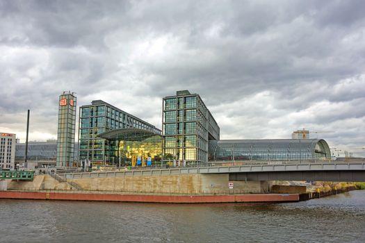 Main train station of Berlin