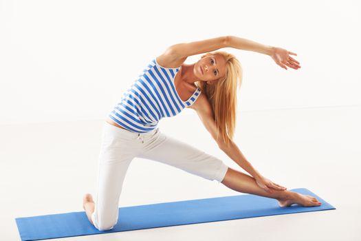 Yoga Gate Pose