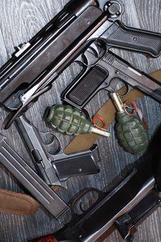Terrorist Weapons Background