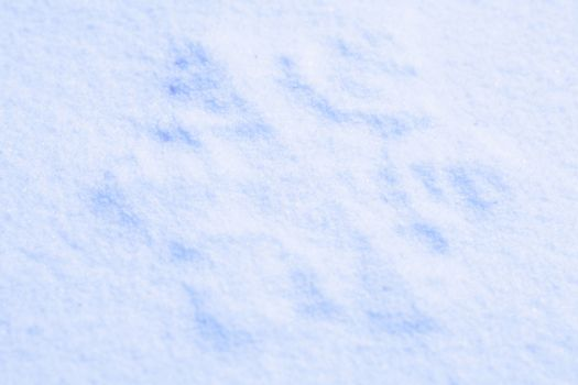 Photo blue snow and snowflakes