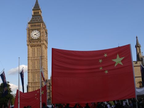 UK - POLITICS - QUEEN ELIZABETH AND CHINESE PRESIDENT
